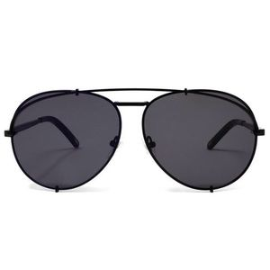 NEW Diff Sunglasses Koko matte black aviators